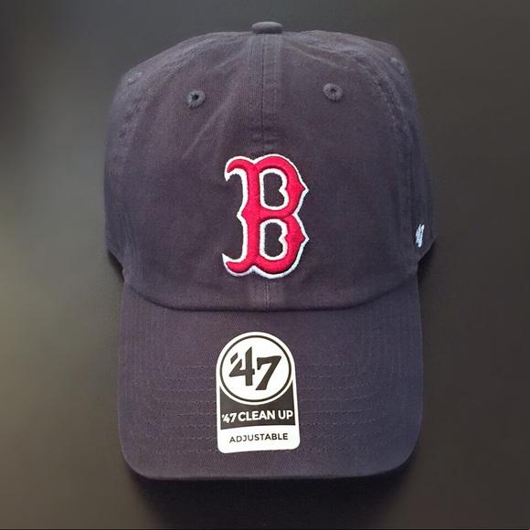 2de7b405b7753 ... greece nwt boston red sox 47 clean up baseball hat 21c39 4c442